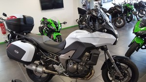 Occasion Kawasaki Versys 1000 ABS 2014 Blanche 6228kms