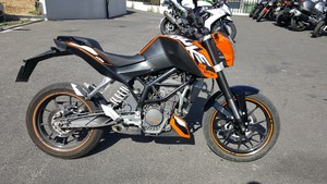 Occasion 125 KTM DUKE 2011 13030kms Noir et Orange
