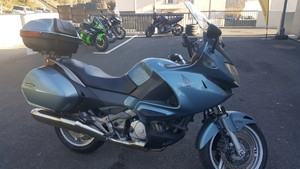 Occasion Honda 700 Deauville ABS Bleue 2006