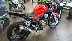 Occasion Honda CB500F ABS 10/2016 Rouge 5004kms Garantie con...