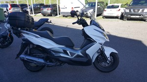 Occasion Kawasaki Scooter J125 ABS 2016 4666kms garantie con...