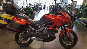 Occasion Kawasaki Versys ABS 650 2016 Orange Grand Tourer Ga...