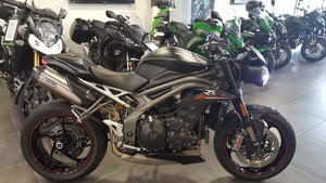 Occasion Triumph Speed Triple RS ABS Noir 2018 Garantie Cons...
