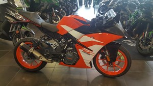 Occasion KTM RC 125 ABS Orange 2018 Garantie 12 mois
